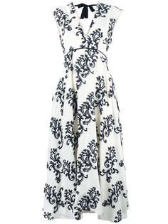 arabesque pattern midi dress Rossella Jardini