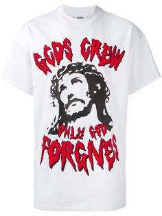 'Only God' print T-shirt Gcds