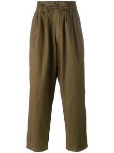 брюки свободного кроя Yohji Yamamoto