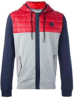 куртка дизайна колор-блок Bikkembergs