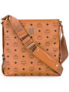 сумка на плечо с принтом-логотипом MCM
