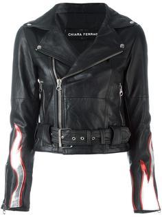 'Flirting' biker jacket Chiara Ferragni