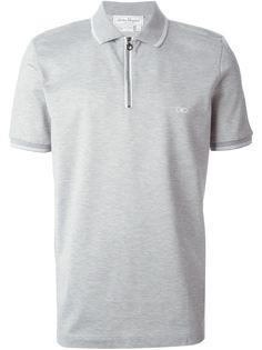 футболка-поло с молнией спереди Salvatore Ferragamo