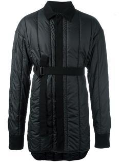 дутая куртка с поясом Ann Demeulemeester Grise