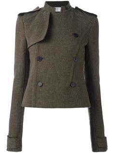 укороченный двубортный пиджак Haider Ackermann