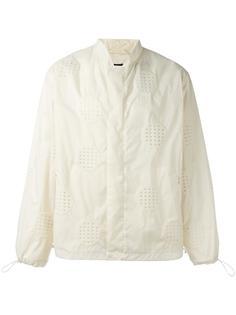 куртка-бомбер с перфорацией Craig Green