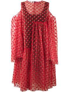 прозрачное многослойное платье  Paskal