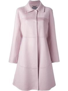 пальто с панельным дизайном Alberta Ferretti