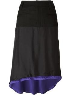 двухслойная юбка  Haider Ackermann