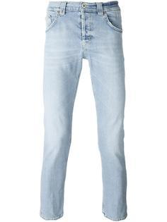 укороченные брюки прямого кроя  Dondup