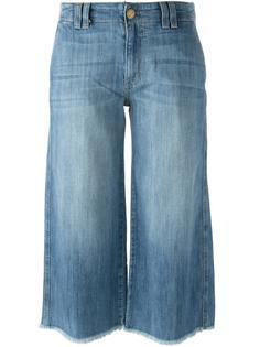 укороченные джинсы с необработанными краями Current/Elliott
