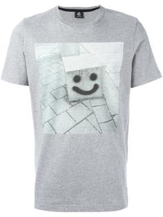 'Smiley' print T-shirt Ps By Paul Smith
