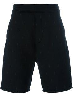 шорты с вышивкой Neil Barrett