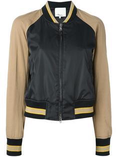 куртка бомбер с контрастными рукавами 3.1 Phillip Lim