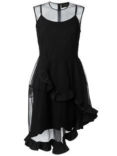 асимметричное платье с оборками Simone Rocha