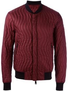 стеганая куртка-бомбер  Armani Jeans
