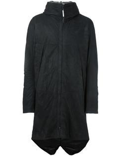 кожаное пальто на молнии Isaac Sellam Experience