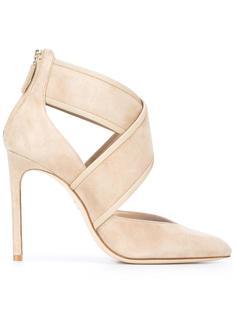 туфли с перекрещенными ремешками Lanvin