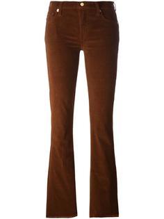 расклешенные вельветовые брюки 7 For All Mankind