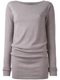 свитер с вырезом-лодочкой  Rick Owens