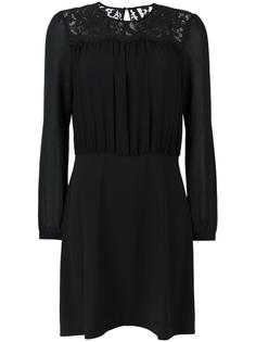 платье с кружевной вставкой Michael Michael Kors