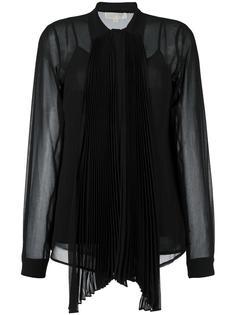 полупрозрачная блузка с бантом Michael Michael Kors
