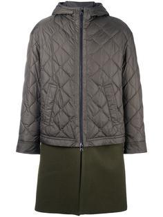 пальто с дутой встакой  Neil Barrett