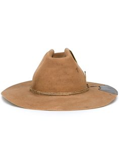 фетровая шляпа с пером Nick Fouquet