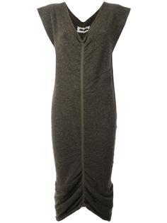 платье с присборенным подолом Uma Wang