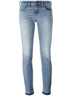 укороченные джинсы  с двойными манжетами Rag & Bone /Jean