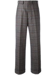 широкие брюки в клетку Junya Watanabe Comme Des Garçons