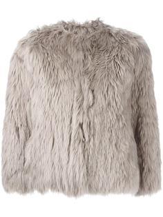 укороченная меховая куртка Maison Margiela