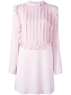 платье с плиссированной панелью спереди Giamba