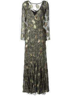 платье с кружевным слоем Etro
