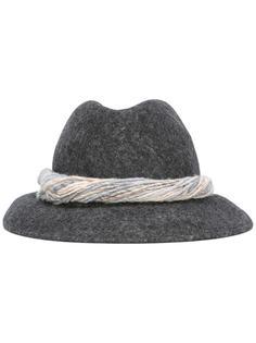 шляпа с плетеным бендом Woolrich