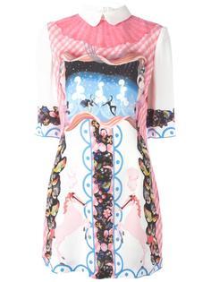 платье 'Crescione' с принтом Vivetta