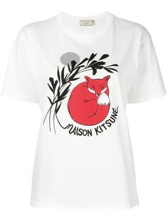футболка 'Dan-ah Kim Asleep'  Maison Kitsuné