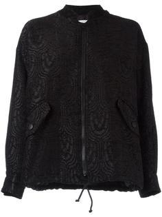 куртка-бомбер с узором Essentiel Antwerp