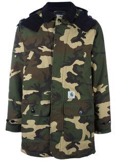 camouflage print parka  Carhartt