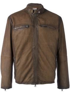куртка с карманами на молнии D'amico