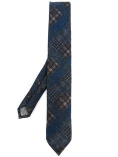 галстук в клетку Al Duca D'Aosta 1902
