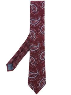 галстук с узором пейсли Al Duca D'Aosta 1902