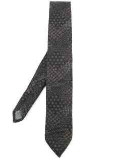 галстук со смешанным принтом Al Duca D'Aosta 1902
