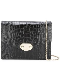 сумка через плечо с эффектом крокодиловой кожи Armani Collezioni