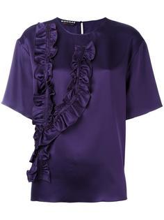 футболка с оборками Rochas