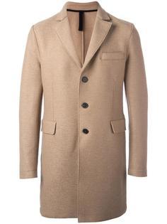 'Chester' pressed coat Harris Wharf London