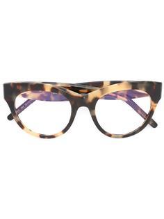 round frame glasses Pomellato