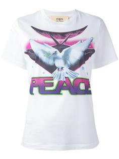 'Peace' print T-shirt Ports 1961