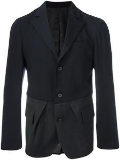 bi-colour combined blazer Wooster + Lardini