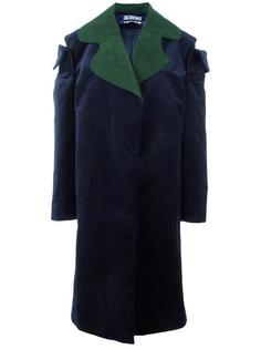 объемное пальто с вырезными деталями Jacquemus